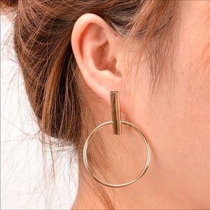 Jewelry - Dangling Hoop
